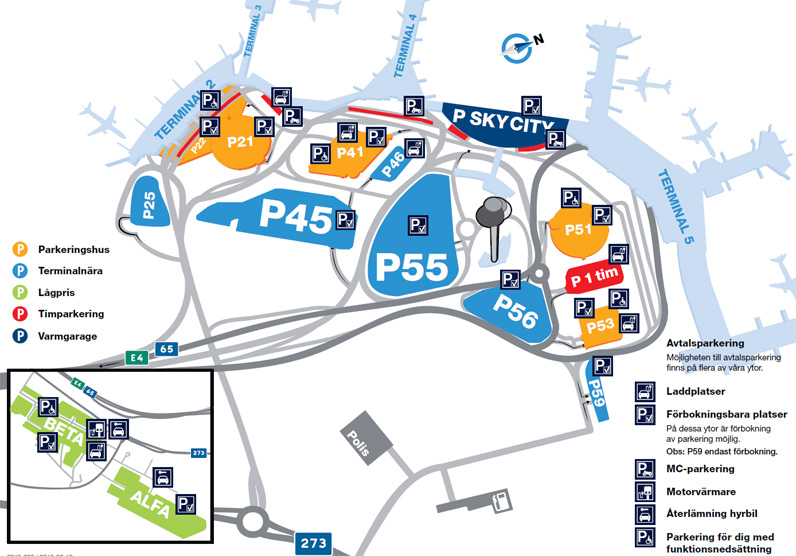 Arlanda parkering